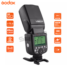 Godox V860II Flash V860II-S TTL 2.4G GN60 HSS 1/8000s 2000 mAh Bateria Camera Flash Speedlite Trigger for Sony + gift kit цена