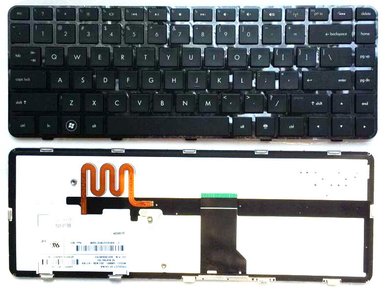 US Black New English Replace laptop keyboard FOR HP DM4-1020 TX 1021 1022TX 1001TU 1116 1117 1118 pavilion DM4-1000 DV5-2000