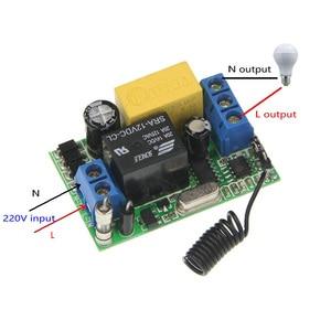 Image 4 - 3000 м переменный ток 220 в 1 канал 1 канал реле радиочастотный переключатель дистанционного управления 2 канала передатчик + мини 10а приемник 315/ 433, межблокировка