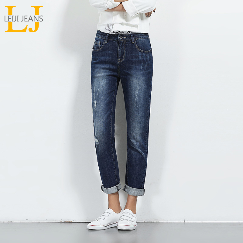 LEIJIJEANS 2018 New Arrival Ripped Jeans