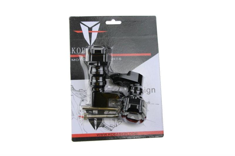KODASKIN Carbon Motorcycle Crash CNC Aluminum Motorcycle Engine Slider Frame Protector Falling Protection For KAWASAKI