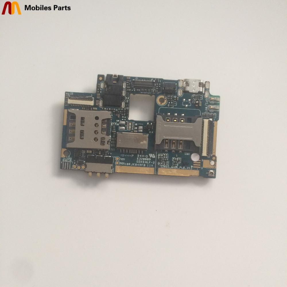 Used Mainboard 1G RAM+8G ROM Motherboard For DOOGEE X3 MT6580 Quad Core 4.5 inch 854 x 480 Free Shipping