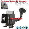 Universal giratorio del montaje del coche soporte para teléfono móvil soporte para teléfono celular + Clip de ventilación ForSony Xperia Z3 compacto Xperia Z3 mini / M55W