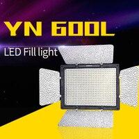 Yongnuo YN 600L 600 светодиодный Studio Видео 3200 k 5500 k лампа Цвет Температура с пульт для Canon sony видеокамеры DSLR