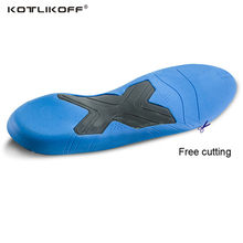 KOTLIKOFF 3D Orthopedic Insoles Premium Comfortable Orthotics Flat Foot Insole Insert Arch Support Pad for Plantar Fasciitis