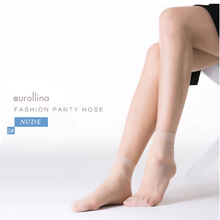Dotted Short Silk Socks Jacquard Selected Hosiery Crystal Woman Lace Dot Lolita  Lovely Ankle Ultra Thin Sheer