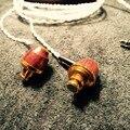 100% Más Reciente LaoZe DIY Hecho A Mano de Encargo En la Oreja los Auriculares Auriculares de Alta Fidelidad Del Auricular De Madera Bass Subwoofer Tuning Profesional auricular