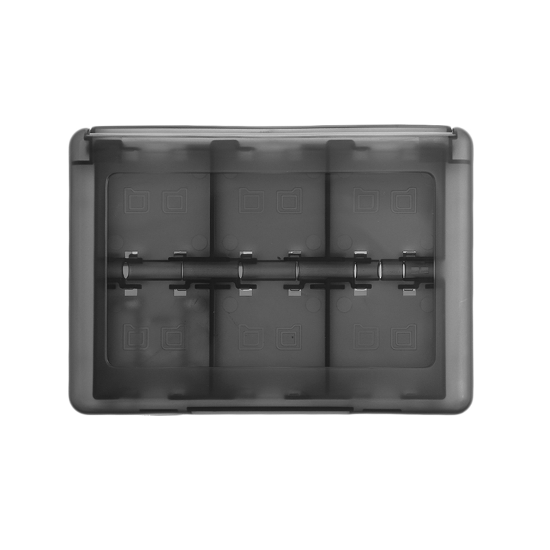 Games Accessories Case 28-In-1 Black Game Card Case Holder Cartridge Storage Box For Nintendo DS 3DS