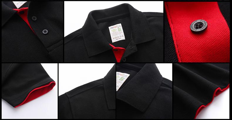URSPORTTECH Men's Polo Shirt For Men Desiger Polos Men Cotton Short Sleeve shirt Clothes jerseys golftennis Plus Size XS- XXXL 41