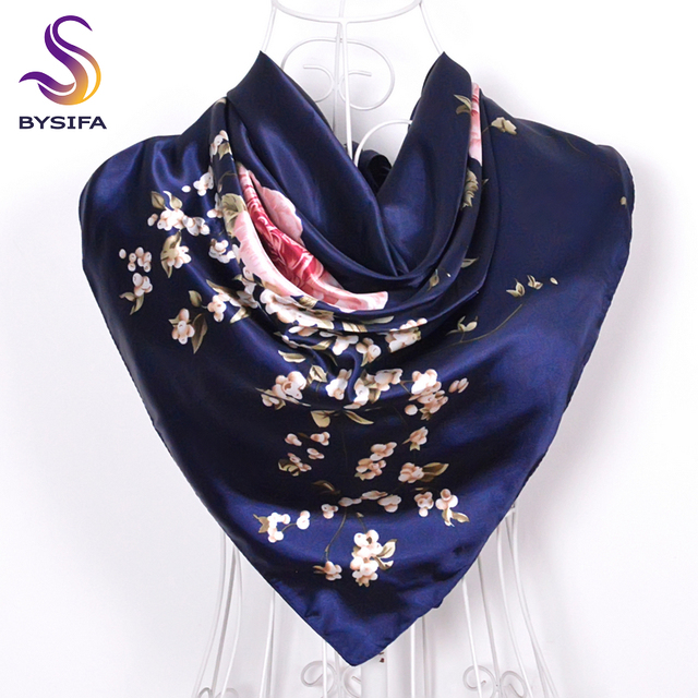 Chinese Roses/Blossom Large Square Scarf
