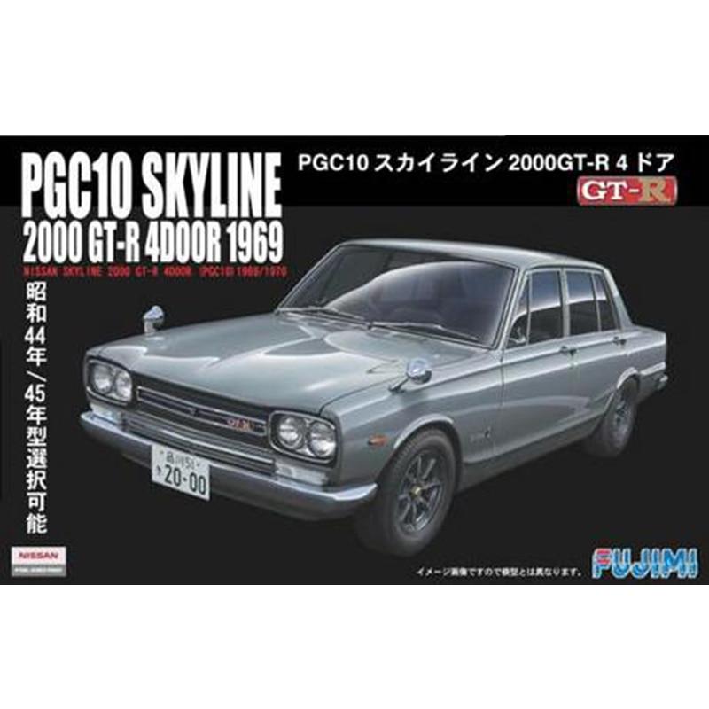 Assembled Car Model 1/24 Skyline Gt - R 1969 ( PGC 10 ) 03858