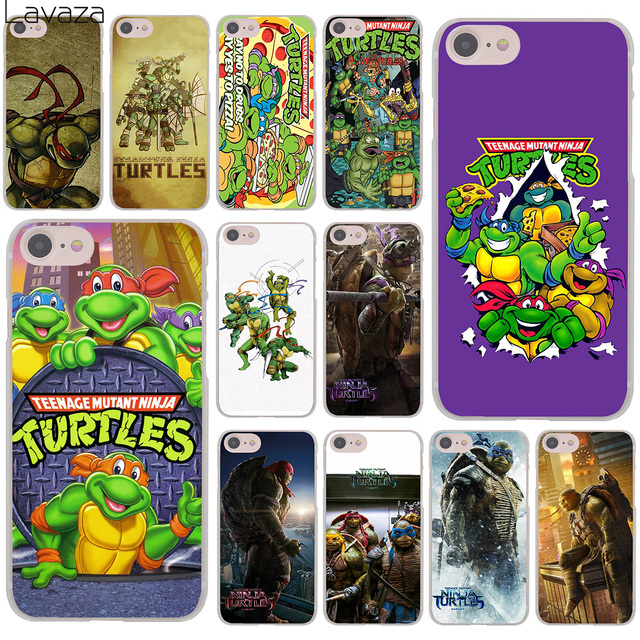 new style 8611a db9d6 US $1.68 34% OFF|Lavaza TMNT Teenage Mutant Ninja Turtles Hard Cover Case  for iPhone X XS Max XR 6 6S 7 8 Plus 5 5S SE 5C 4S 10 Phone Cases 8Plus-in  ...