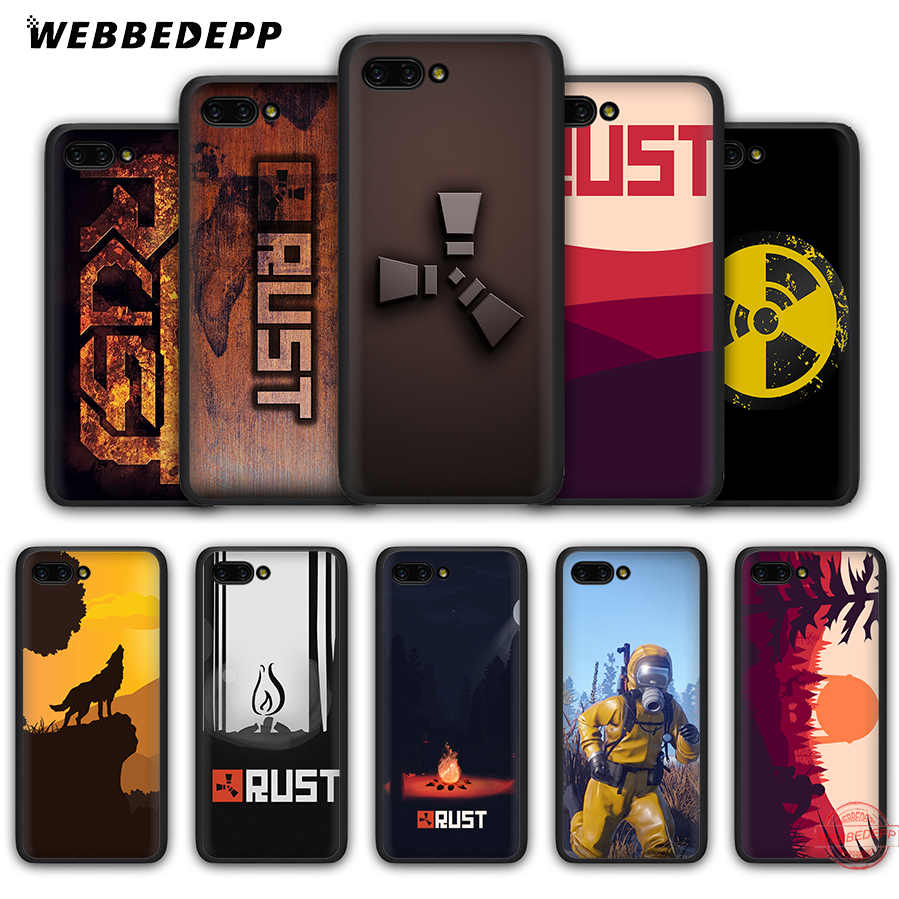 WEBBEDEPP Rust game Soft Case for Honor 20 10 9 9X 8 Lite 8C 8X 7X 7C 7A 3GB 6A Pro View 20