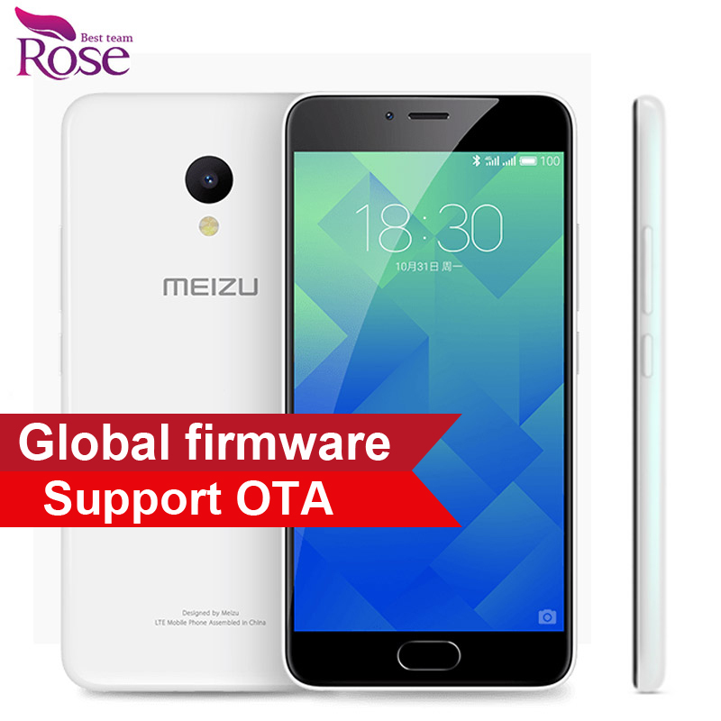 "bilder für Ursprüngliche Meizu M5 MTK MT6750 Octa Core-Handy 3 GB RAM 32 GB ROM 5,2 ""4G LTE 2.5D Glas 1280*720 13MP Fingerprint ID 3070mA"