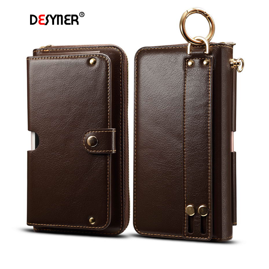 Genuine Leather Pouch Hip Waist Wallet Bag <6.3 inch Universal Phone Bag For iPhone Outdoor Belt Bag For Samsung Galaxy S8 S9