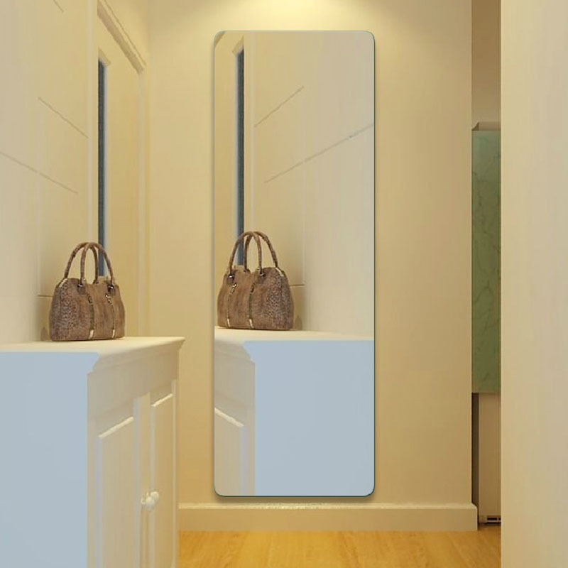 Vidrio ultra claro espejo, cuadrado vestidor espejo de pared ...