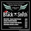 Black Smith Strings Nickel Round Wound Electric Guitar Strings, Made in Korea