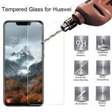 9H Screen Tempered Glass for Huawei P Smart Plus Mate 10 Lite Hard Glass on Huawei Mate 7 8 9 Pro Glass for Huawei Mate 20 Lite(China)