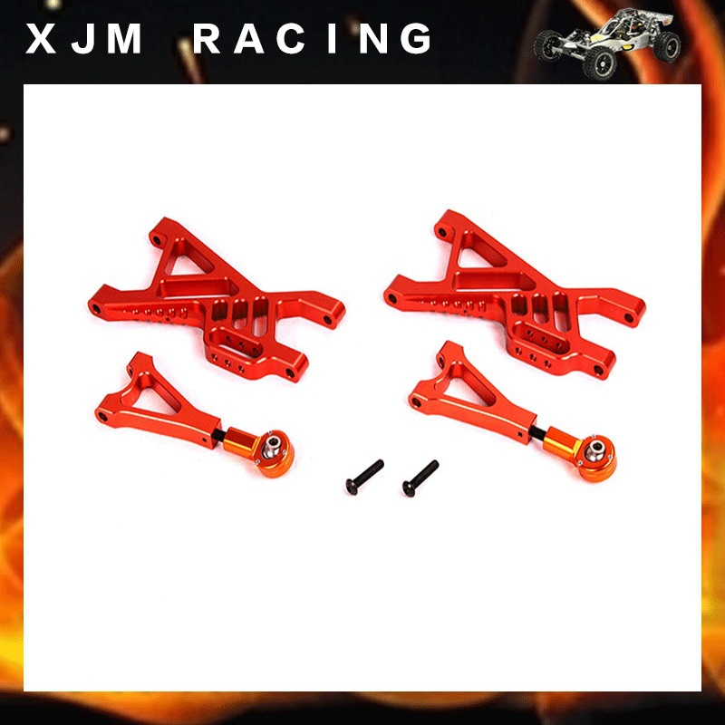 Alloy rear suspension arm set silver fit 1/5 RC HPI baja 5B 5T 5SC rear lower arm for 1 5 hpi baja 5b 5t 5sc
