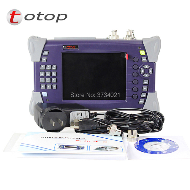 SM Optical Time Domain Reflectometer Fiber Optic OTDR Tester OTDR-2000 15/16dB 1310nm/1550nm