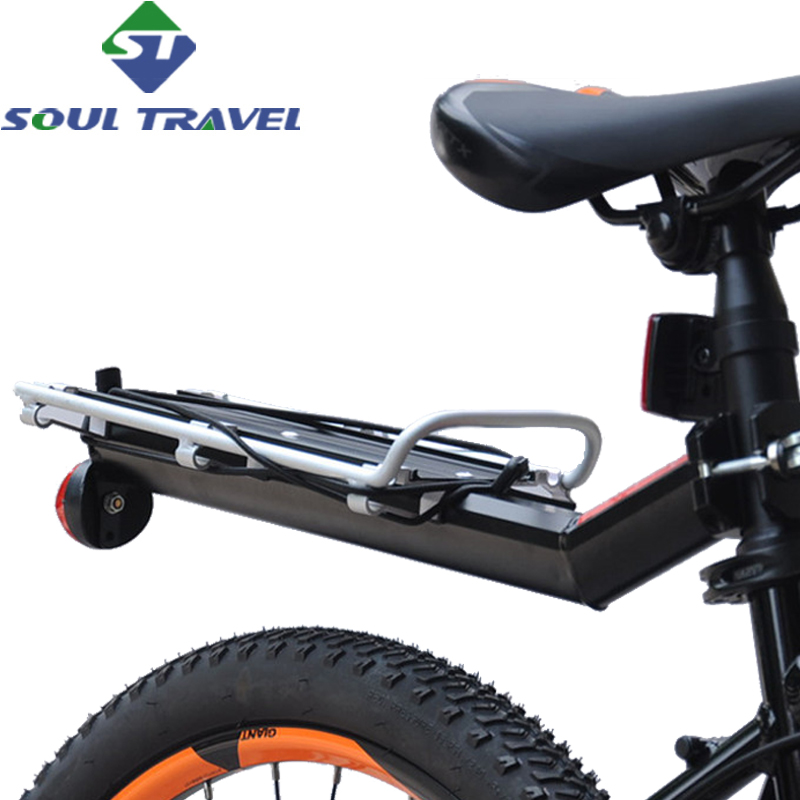 Soul Travel Quick Release Bicycle Racks Rear Luggage Carrier Bike Cargo Rack Aluminum Si ...