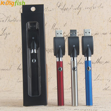 510 button adjust voltage battery 350mah cbd LO preheat O pen vape e cig batterie PK O-pen vape ego u evod battery fit with ce3