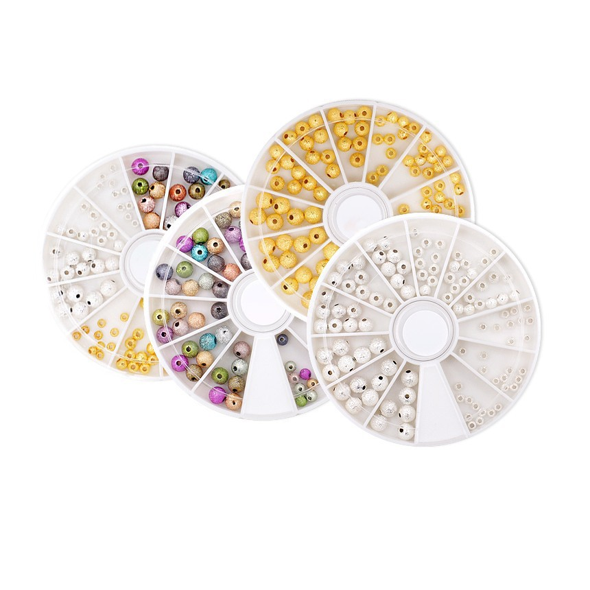 Makartt 10 PCS /4 Wheels Colorful Acrylic Nail Art Glitter Rhinestone Decoration+Wheel Nail Stones Glitter Ball D1099X 2015 colorful acrylic nail glitter wheel glitter gold plated nail art jewelry women fingernail decoration supply wy165