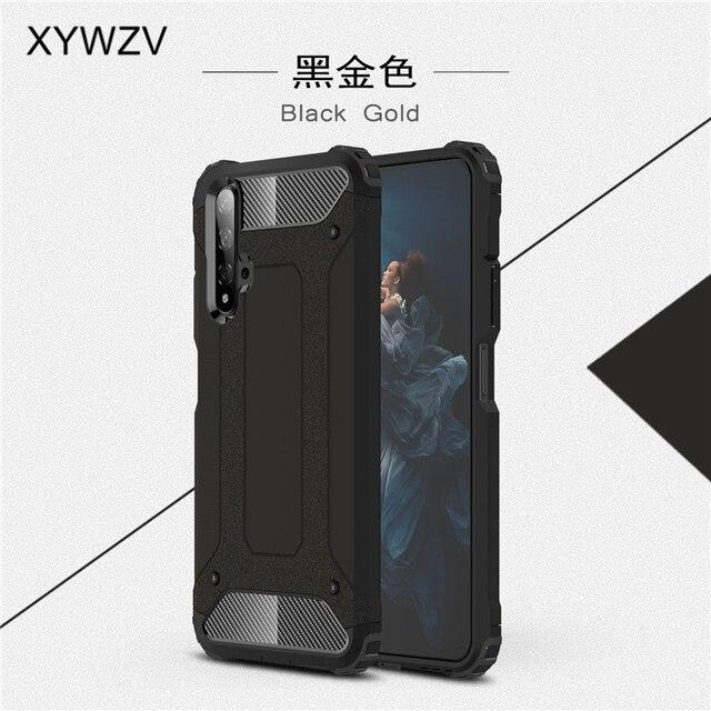 עבור Huawei Honor 20 מקרה עמיד הלם רך סיליקון שריון גומי קשיח מחשב מקרה טלפון עבור Huawei Honor 20 חזרה כיסוי לכבוד 20