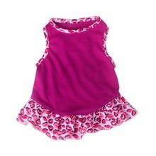 Летняя Одежда для питомцев, щенков, маленьких собак, кошек, домашних животных, жилет, юбка, одежда 0327