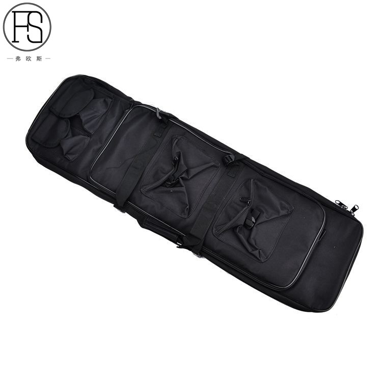 Outdoor Hunting Military Airsoft Sports 118CM Tactical Gun Bag Square Carry Bag Protection Bag Case Camping War Game Backpack in Holsters from Sports Entertainment