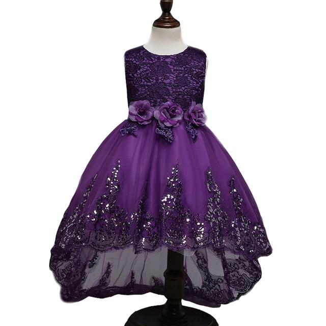 Платья для девочек для праздничная и Свадебная обувь принцессы платья для детей Выпускные платья Бальные платья Обувь для девочек Vestido De Festa Infantil