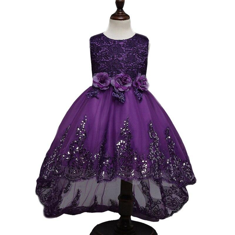 Niñas vestidos para el Partido y la boda princesa vestidos para ...