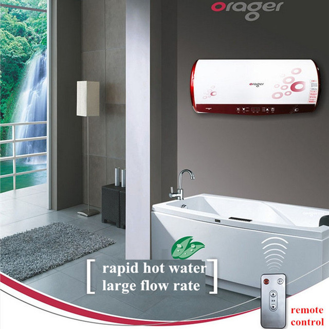 Mini Tank Water Heater Remote Control Electric Rapid Hot Shower Bathroom  Instant Induction Preheat Heater Quality