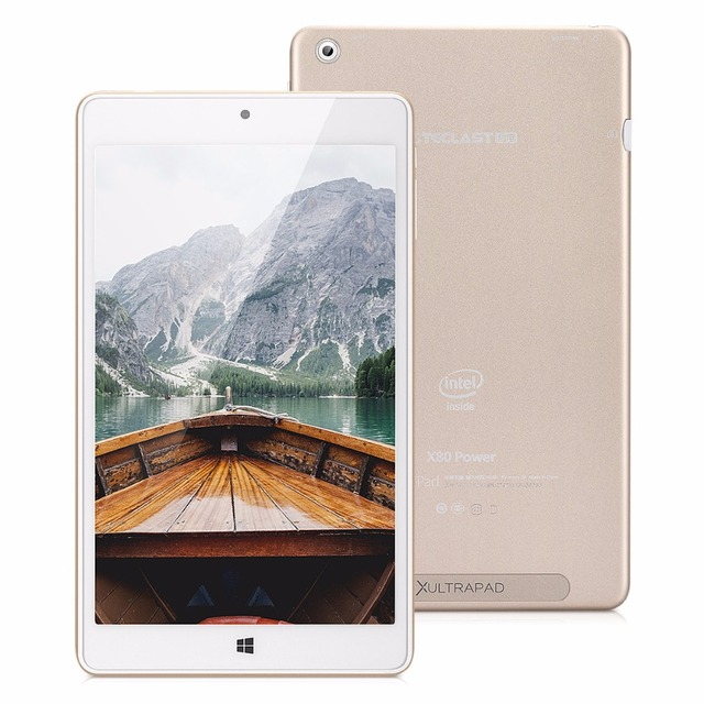 Teclast X80 Power 8.0 inch Dual OS Windows 10 + Android 5.1 Intel Cherry Trail Z8300 64bit Quad Core 2G RAM 32G ROM Tablet PC