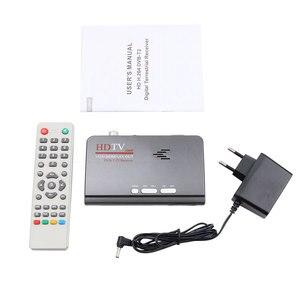 Image 2 - Kebidumei receptor de sintonizador tv, dvb t DVB T2 t/t2, caixa de tv vga av cvbs, 1080p hdmi digital por satélite hd receptor para lcd/crt monitores