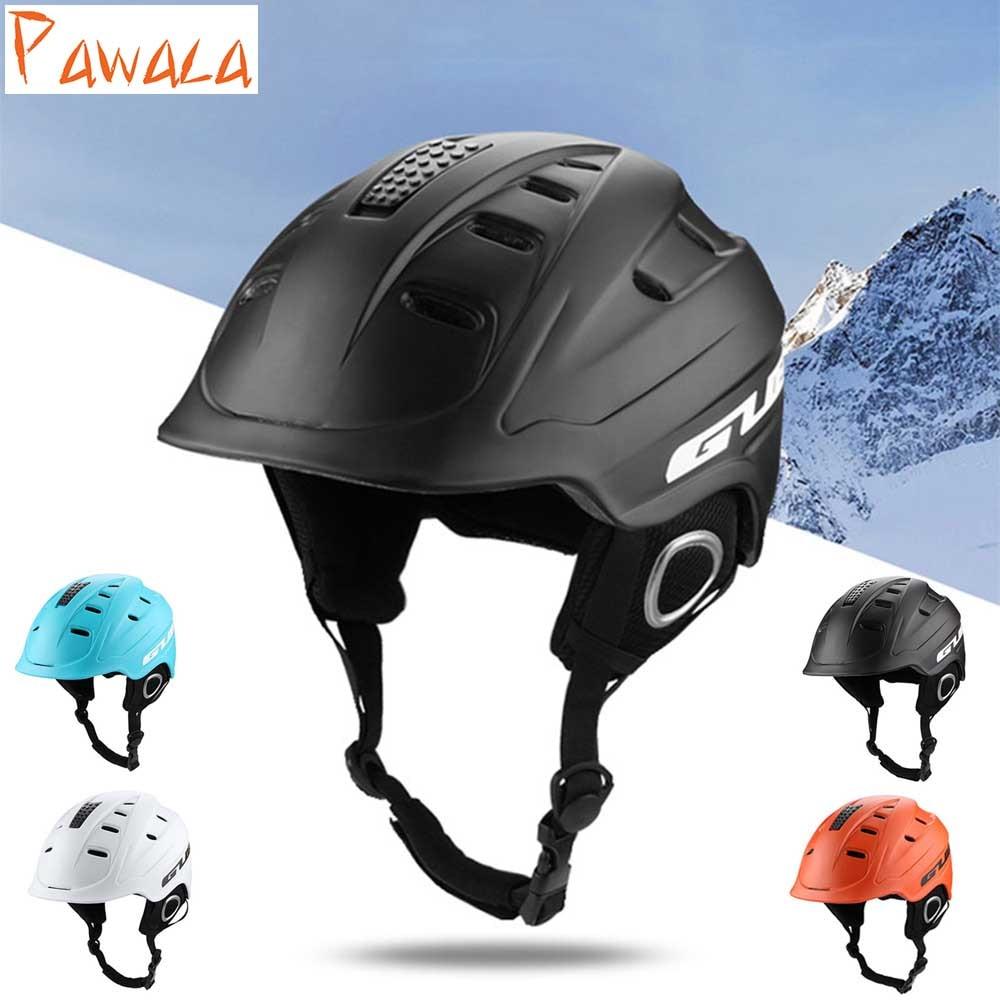 Offre spéciale casque de Ski intégral-moulé casque de Ski pour hommes femmes neige casque sécurité Skateboard Ski Snowboard casque 4 couleurs