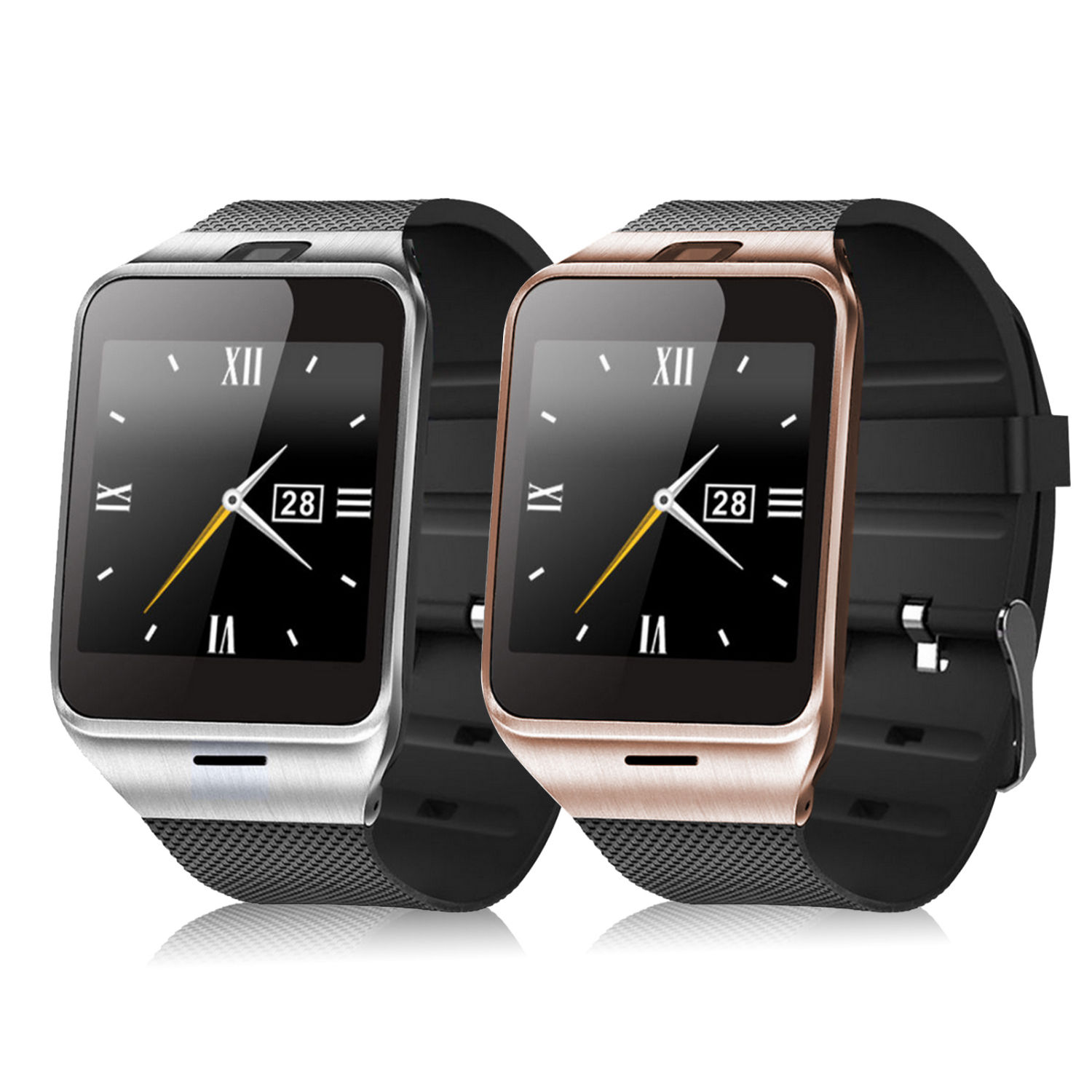 Bluetooth smartwatch smart watch gv18 para samsung para apple android Soporte de