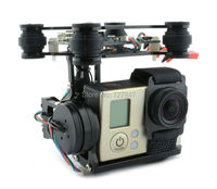 RTF Version 2 Axis Brushless Gimbal Camera Mount With 32bit Storm32 Controller For Gopro 3 4