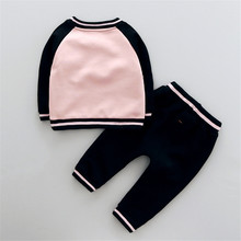 Winter Baby Girl Clothes Sets Boys Long Sleeve Dog Tops+Pants Kids Clothes Velvet Children Clothing Sets Cute Outfits Costume