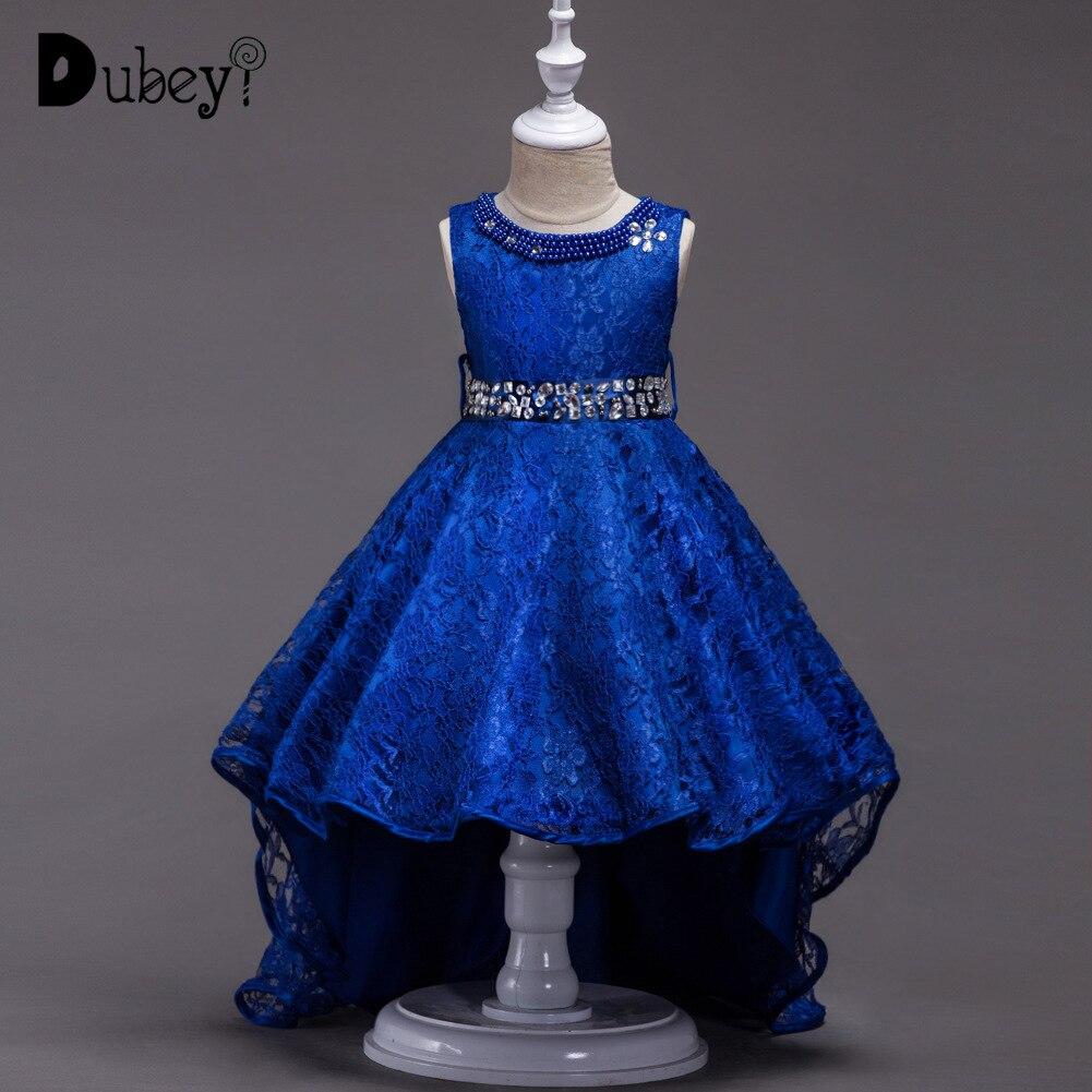 c8e08257145 Cheap Vestido de princesa de encaje con cinturón de cristal flor chica de  primera comunión decoraciones