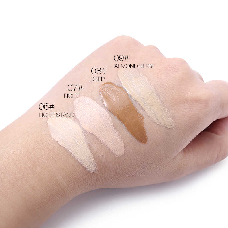 UCANBE marca estudio botella de bebé líquido Base de maquillaje conjunto de crema BB de larga duración cobertura completa corrector cosméticos Primer Base