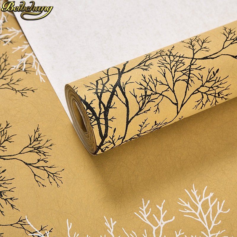 Beibehang European 3d Tree Silk Wallpaper Bedroom Living Room Background Beauty Salon Health Museum Nordic White Wall Paper Roll Wallpapers Aliexpress