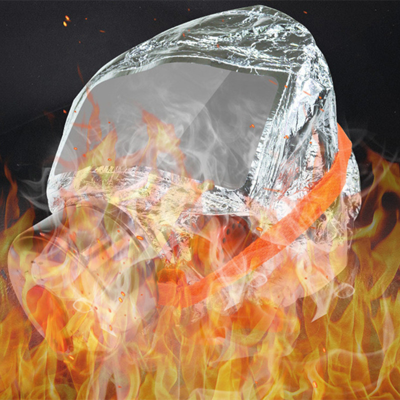 30 Minutes Fire Escape Mask Forced 3C Certification Fire Respirator Gas Mask Emergency Escape Respirator Mask Face Shield in Masks from Security Protection