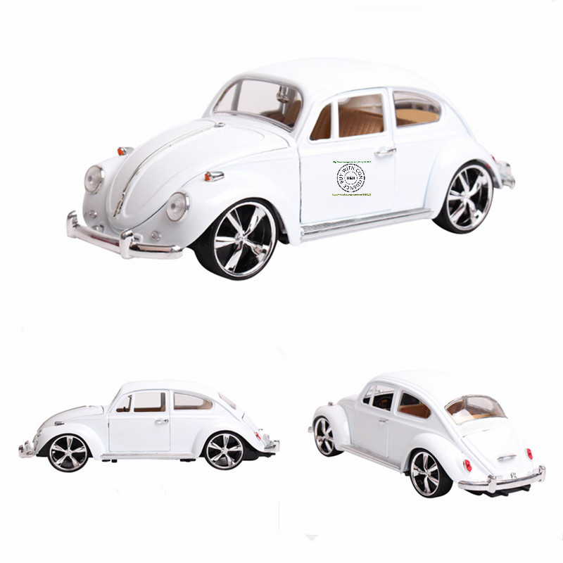 4color Hot sale 1:18 Volkswagen Beetle Beatles MZ Retro classic cars ...