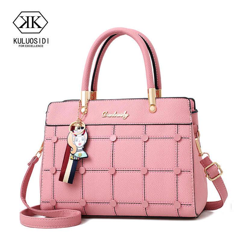 7a10f7c716a4 Нить Курьерские сумки Для женщин кожаные сумочки сумки на плечо для Для женщин  2018 пакета(