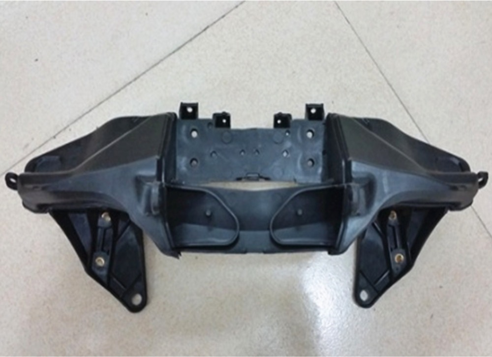 Front Upper Fairing Stay Bracket Cowling Headlight Support Holder for Honda CBR 600 RR CBR600RR F5 2007-2012 2011 2010 2009 2008  front headlight headlamp head light lamp upper stay bracket fairing cowling for honda cbr600f4i cbr 600 f4i 2001 2002 2003 2007