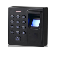 Door control system fingerprint and smart card access system control reader support U disk