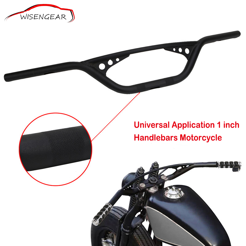 1/'/'25mm Motorcycle Tracker Handlebar Drag Bars For Harley Dyna FLHT Fatboy XL883