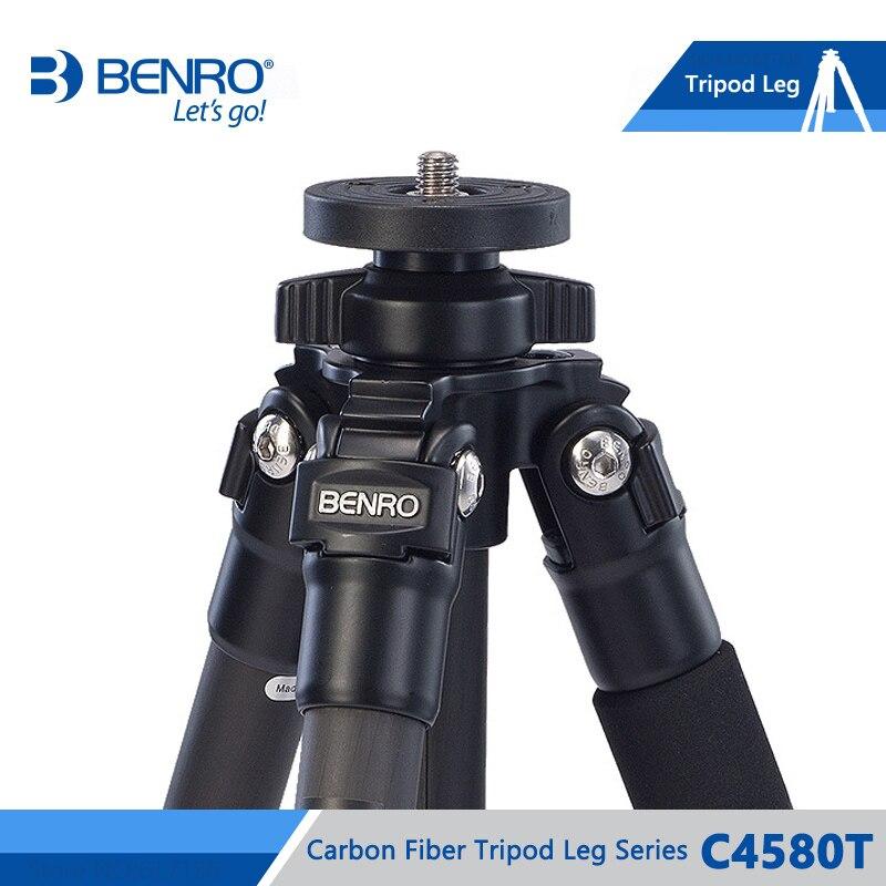 BENRO C4580T Tripod Carbon Fiber Tripod Leg Universal Support Tripods For Camera 4 Section Max Loading