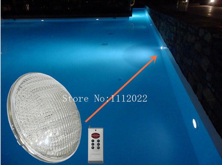 led pond lights underwater 40W RGB PAR56 12v Swimming Pool Light led pool lights Underwater lights 1pcs/lot free shipping